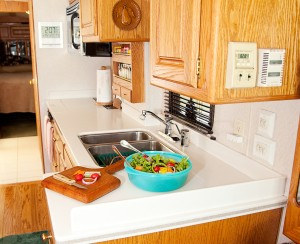 RV Interior Countertops, Sinks, Refinishing